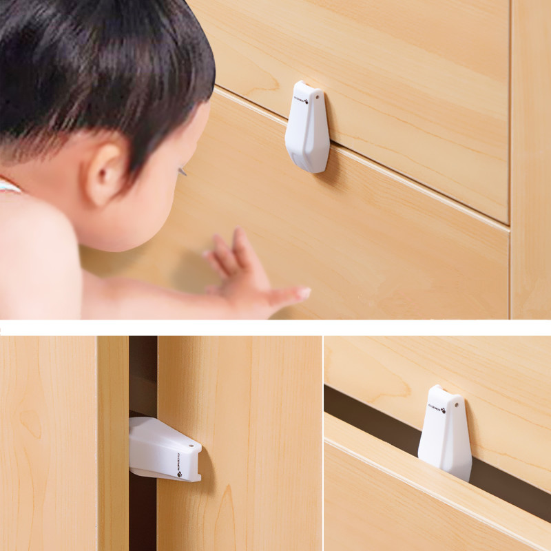 Child safety products sale 4 pcs/lot The new hot fashion original design Drawer anti clamp with 5*2.5*1.5 aTRQ0684