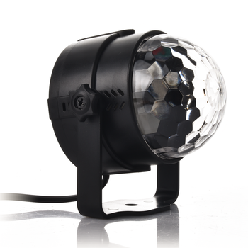 Holiday Lighting 3W Mini RGB Crystal Magic Ball Led Stage Lights DJ KTV Disco Party Lamp IR Remote Control Christmas Projector