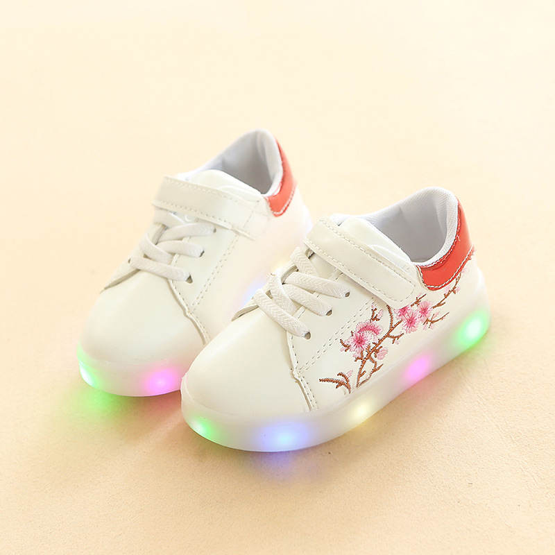 High quality 2018 Excellent fashion children shoes canvas flower fantastic cool baby boys girls sneakers Casual kids shoes