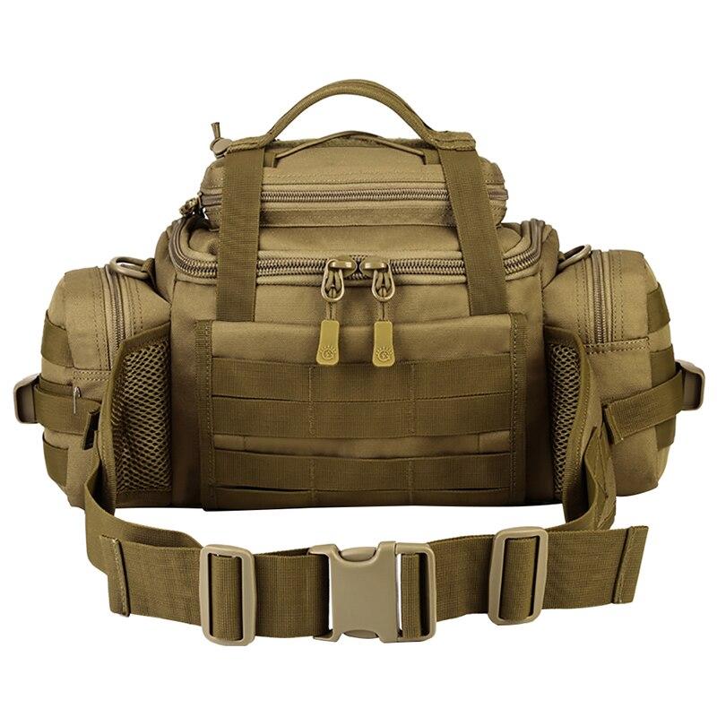 Prix pour Voyage en plein air Sac de Taille Tactique Assault Vitesse Sling Pack MOLLE Modulaire Déploiement Gamme Sac Randonnée Fanny Pack Agrès de Pêche