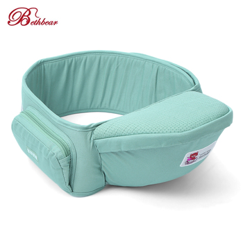 Bethbear Baby Carriers Infant Hip Seat Toddler Waist Stool Carrier Multifunctional Front Facing Comfortable Pouch Wrap Kangaroo 4