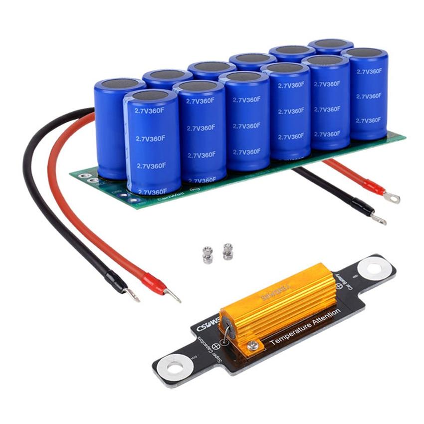 Super Capacitor Module 30F 32V Fala Capacitor Energy Storage Generator Starting Super Capacitor Series Voltage 750V360F