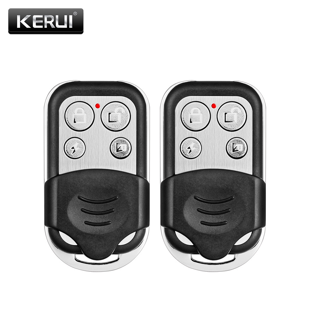 Flight Tracker 2pcs Wireless Metallic Metal Remote Control Setting Arm/disarm For Kerui G19 G18 Gsm Security Burglar Alarm System In Pain Back To Search Resultssecurity & Protection Alarm Remote Controller
