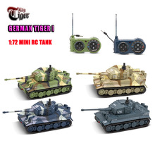 Toys Remote-Control-Toy Great-Tanks Tiger I Germany Mini 1:72 2117 Vivid High-Simulated