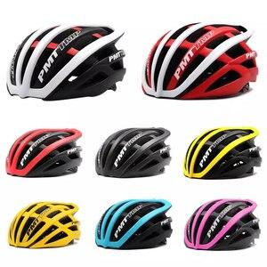 Image 2 - Pmt venda quente capacete de ciclismo ultraleve in mold bicicleta 29 aberturas ari capacete respirável estrada montanha mtb bicicleta capacete