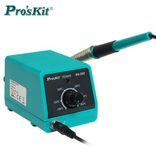 Proskit SS 202G professional Mini Soldering Station with slim soldering iron tips portable for soldering and desoldering