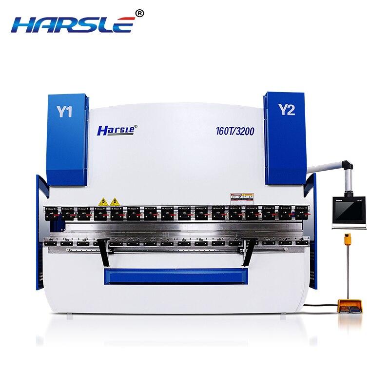 200t WE67k sheet metal bending press machine ALUMINUM structure