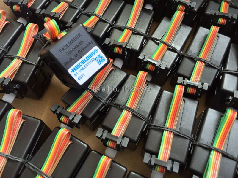 2 pieces free shipping heidelberg printing machine parts ink key motors 61.186.5311/03