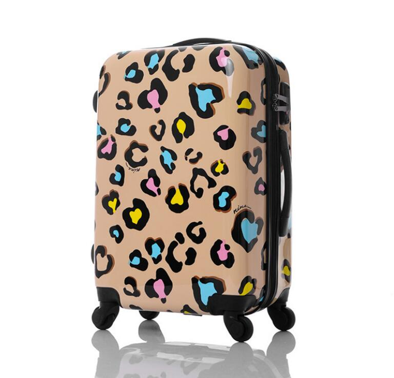 Online Get Cheap Leopard Hardside Luggage -Aliexpress.com ...