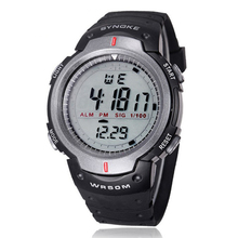 Excellent Quality SYNOKE Brand Men Sports Watches LED Digital Watch Fashion Outdoor Dress Wristwatches Relogios Masculinos