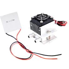12V semiconductor refrigeration water cooled head cooling system kit cooling component refrigerator with 12706 Cooling Peltier