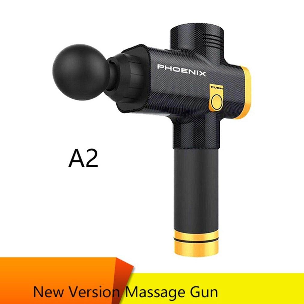 Barbudo Fascia Massagem Arma Elétrica Arma Profundo Relaxamento Muscular Massagem Fitness Agarrar