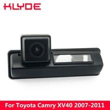 KLYDE Carro HD Rear View Camera Reversa Estacionamento 170 Graus À Prova D' Água Visão Noturna Para Toyota Camry XV40 2007 2008 2009 2010 2011