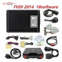 2018 New Original FVDI 2014 ABRITES Commander Diagnostic Scanner Odometer Correction Key Programmer Unlimited With 18 Software