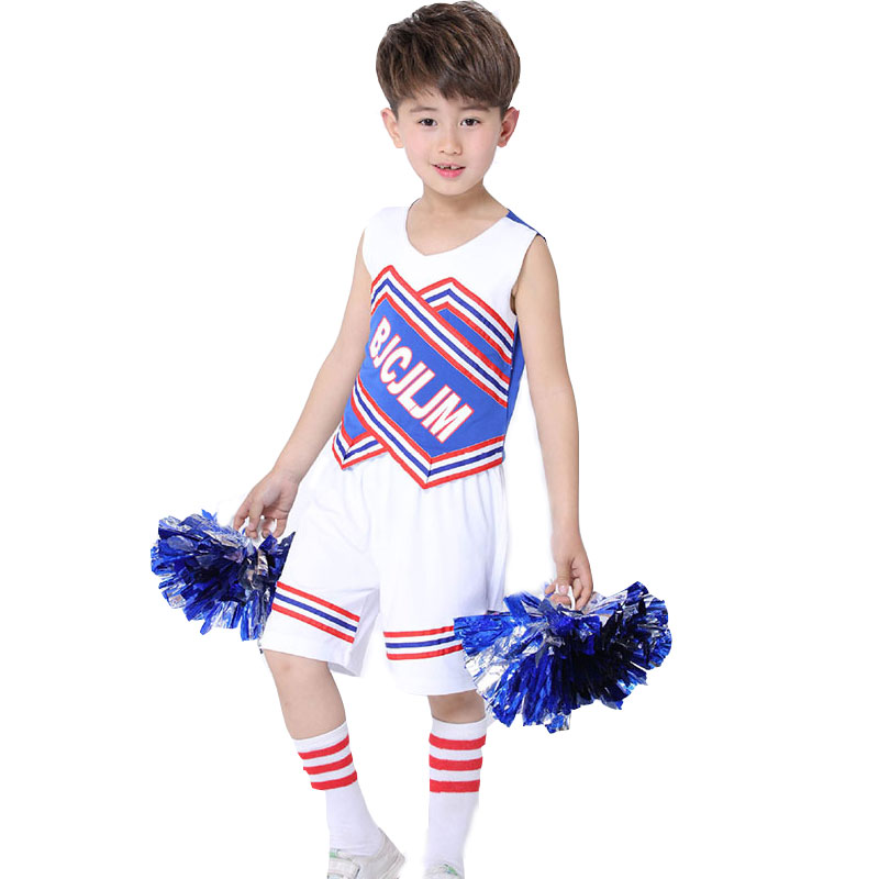 Boy School Uniforms For Boys Cheerleader Costumes White Costume Girls  Cheerleading Gymnastics Dress with Safety Pants School Uniforms  -  AliExpress