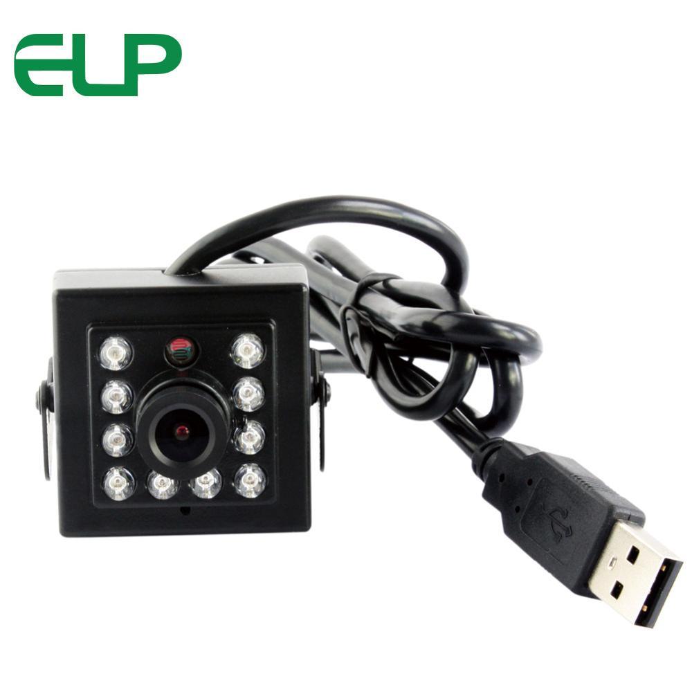 Full HD 1080P CMOS OV2710 CCTV USB Webcam 10pcs IR LEDS Night Vision infrared USB Camera
