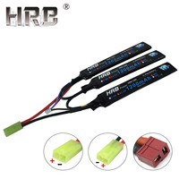 HRB 1200mAh 11.1V 25C 3S Lipo Battery Tamiya T Deans Female Water Air Pistol Electric RC Parts Powerful AKKU For Airsoft Gun Toy