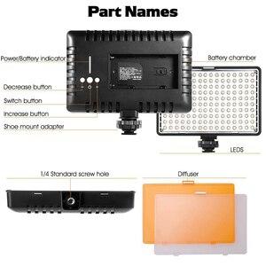 Image 2 - ספאש TL 160S 2 סטים LED וידאו אור 3200K/5600K CRI85 תאורת צילום סטודיו תמונה מנורת פנל LED אורות עבור וידאו לירות