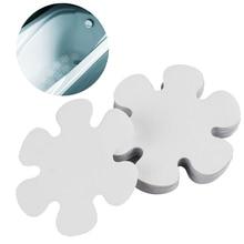 20 PCS Bathroom Anti-Slip Stickers Waterproof Bathtub Flower Shape Skin-Friendly Treads Toilet Kitchen