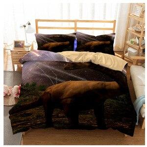 Image 5 - Jurassic Park 3D Dinosaur Bed Set Boys Bedclothes Childrens Bed Linen Set Bed Duvet Cover AU EU Single for Teens Bedding set