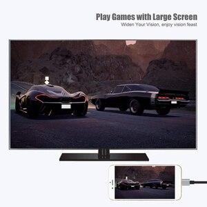 Image 3 - USB zu HDMI Konverter für Blitz zu HDMI Spiegel Kabel Adaptador für Apple iPhone X 8 7 6 S iPad HDMI TV Digital AV Adapter