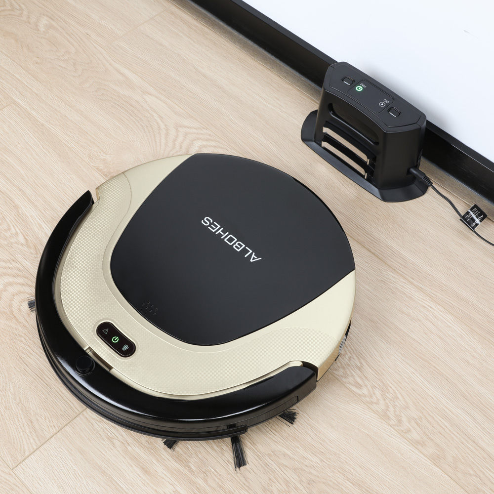 ALBOHES M504 Robot Vacuum Cleaner Cleaning USB Auto Smart Mop Floor Corners Dust Cleaner Sweeper Remote Control Vacuum Cleaner albohes smart sprinkler controller
