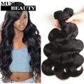 India Virgin Hair Body Wave 4 Bundles Sin Procesar Remy Armadura Del Pelo Humano Suave Destacó Extensiones de Cabello Natural Negro de la Armadura