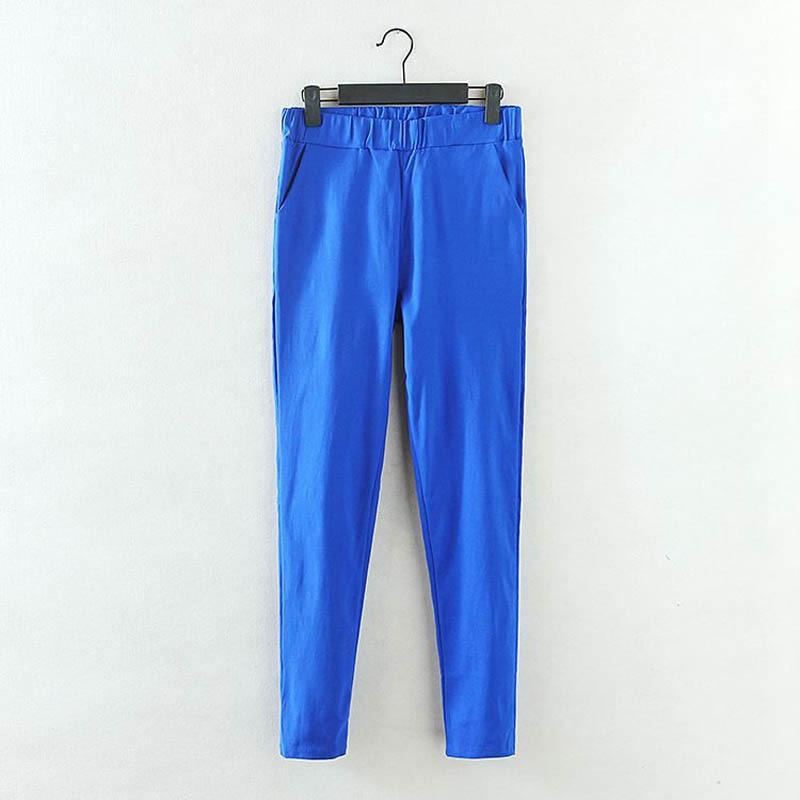 Pantallona me lapsa elastike Gratë krejt të reja Rastesishme Plus - Veshje për femra - Foto 2