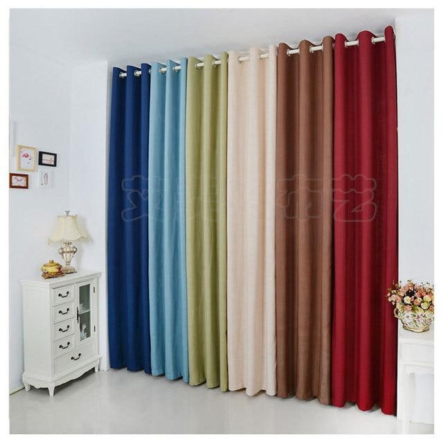 Tende Con Anelli Ikea.Spedizione Gratuita Pianura Ikea Ready Made Cotone E Lino Tende Per