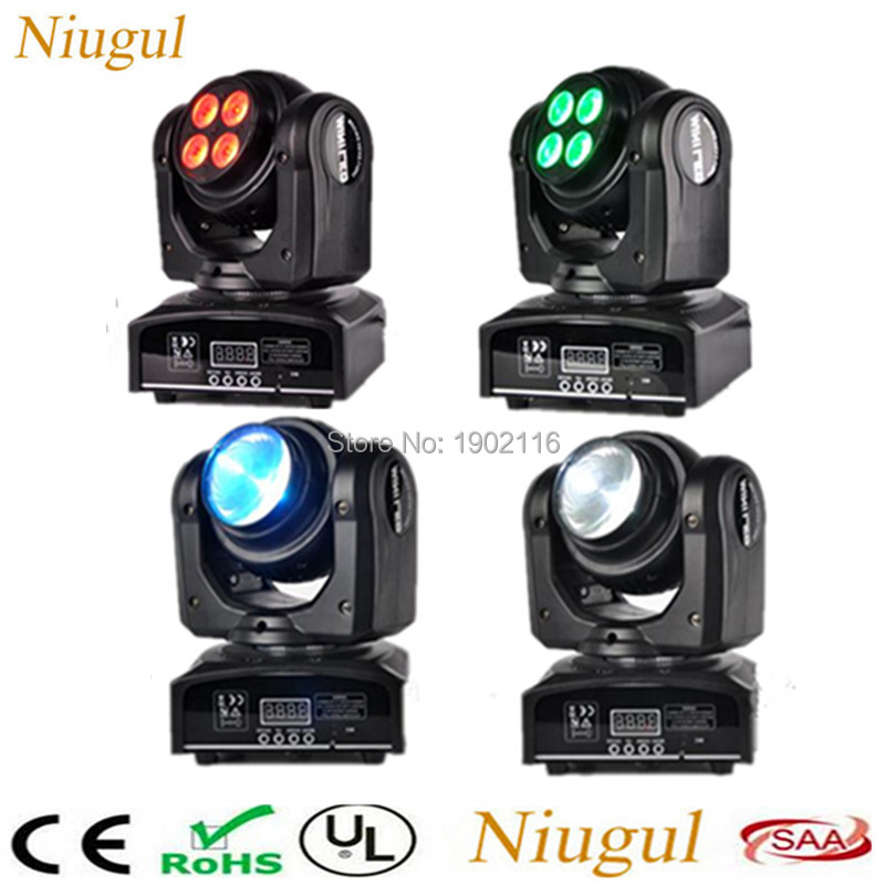 4pcs/lot 50W Beam Wash Double Sides RGBW DMX 512 Infinite Rotating Moving Head Light/Two Face DMX LED Spot Stage Effect Lighting siku siku 1645 трактор с прицепом для перевозки бревен