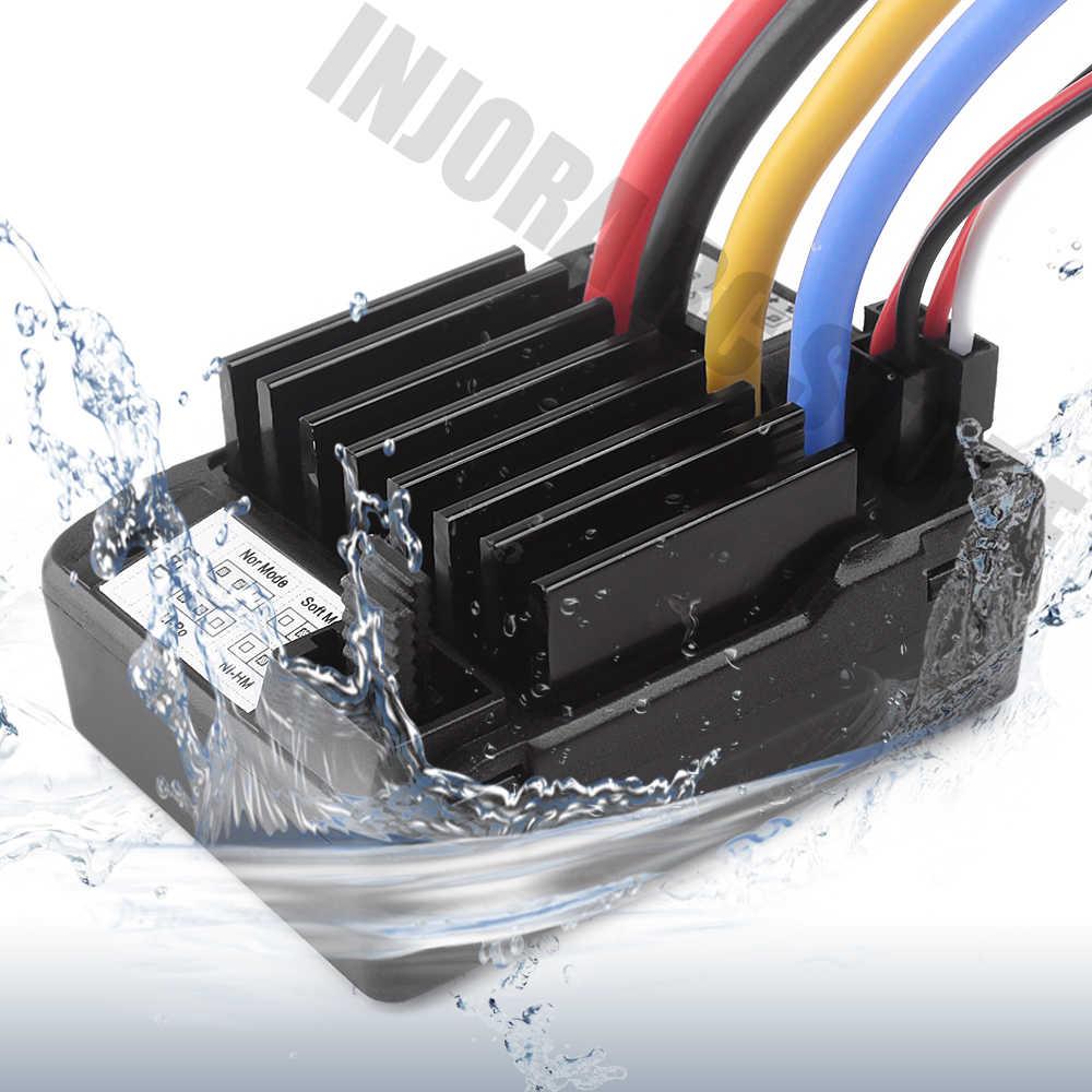 กันน้ำ ESC SPEED CONTROLLER และ 540 มอเตอร์สำหรับ 1/10 RC Crawler Axial SCX10 90046 AXI03007 D90 Traxxas TRX-4