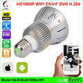 Home Bulb Lamp MINI IP Camera Wifi Micro SD CCTV Security wifi Camera HD 1080P Wireless Audio Surveillance Night Vision Camera