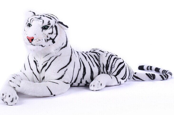huge animal plush toys white tiger toy stuffed tiger doll big white tiger pillow birthday gift 110cm biggest animal plush toys tiger toy huge stuffed tiger doll tiger pillow birthday gift 130cm