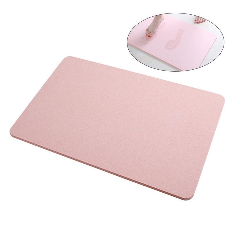 Terre de diatomée antidérapant absorbant rapide Durable tapis de salle de bain tapis de douche tapis de bain tapis de sol de salle de bains pour la famille à la maison