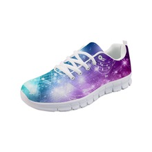 Noisydesigns Zapatos Mujer NotationFlat Shoes Women Lace-up Sneakers Feminine Nu