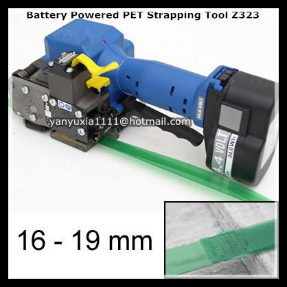 Z323 Battery Powered Plastic Welding Strapping Tools,Electric PP PET Sealless Strapping Packing machine,Banding Machine 16-19MM  цены