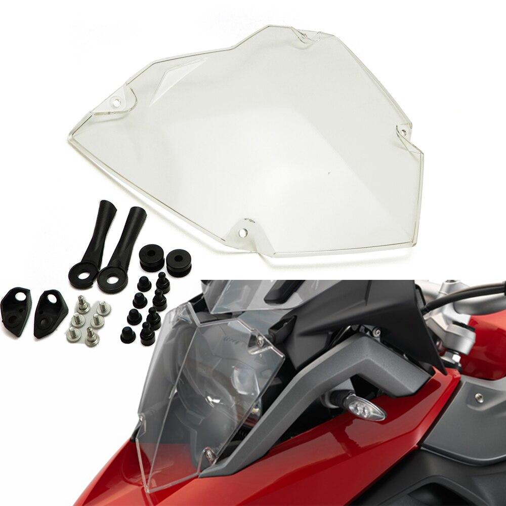 Tout nouveau pour BMW R1250GS/ADV LC 2019 R1250 GS exclusif HP Transparent moto phare garde Protection couvercle Protection