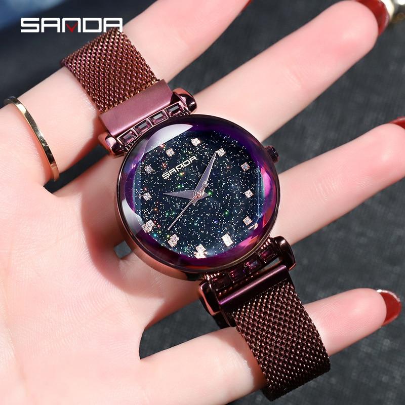 2018 montre de luxe chaude poignet pour femmes montres dames montre femmes Quartz, montres pour femmes minimalisme bracelet en cuir