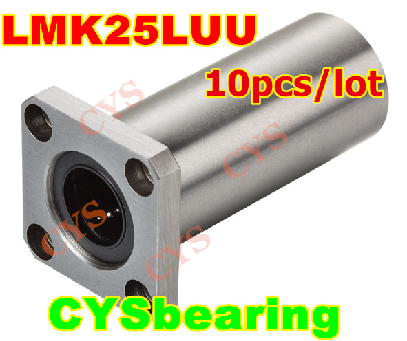 20mm Square Flanged Bushing Linear Motion