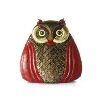 2018 Women Fashion Vintage Animal Owl Shape Small Backpack Shoulder Bag Red Black Luxury Brand Design