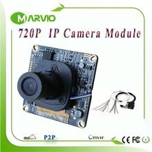1MP 720 P HD IP CCTV сетевые камеры модули доски, видеонаблюдения Системы с IRCUT фильтр, IP Cam модуль ONVIF