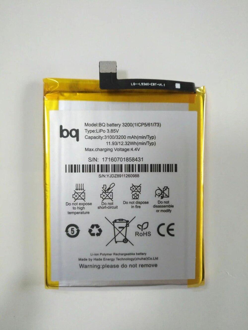 Высокое качество 3200 mAh аккумулятор для BQ Aquaris X5 PLUS аккумулятор BQ 3200 Bateria батареи|Аккумуляторы для мобильных телефонов|   | АлиЭкспресс