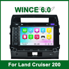 Car DVD Player GPS for Toyota Land Cruiser 200 2007 2008 2009 2010 1011 2012 2013 with Radio Bluetooth support Wifi 3G Ipod
