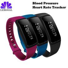 Крови Давление смарт-браслет V07 Шагомер Смарт Браслет монитор сердечного ритма SmartBand Bluetooth фитнес-трекер Android IOS