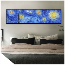 van gogh starry night van gogh painting van gogh oil paint nail art poster quadro wall art cuadros decoracion salon benfica psg цены онлайн