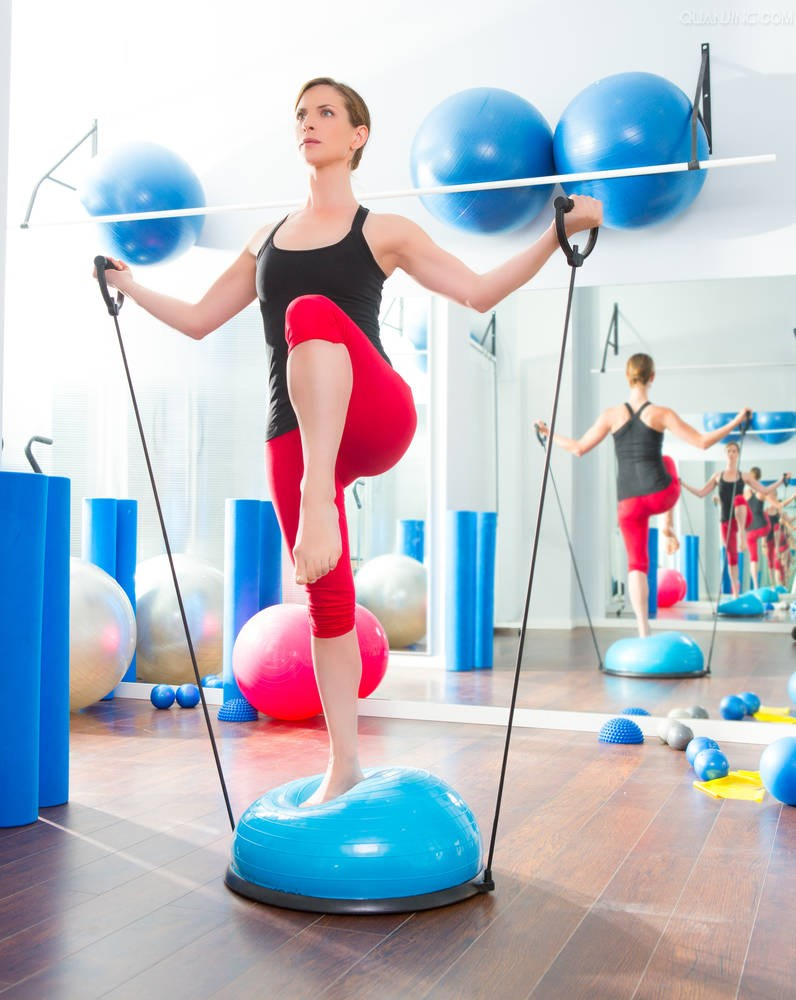 Fitness BOSU Ball Yoga Ball Hemisphere Balance Trainer adult BOSU Balls base exercise bosu ball for gymnastics  yoga ball with base | Yoga Ball Balance Trainer Yoga Fitness Strength Exercise Workout w/Pump Blue Fitness BOSU font b Ball b font font b Yoga b font font b Ball b