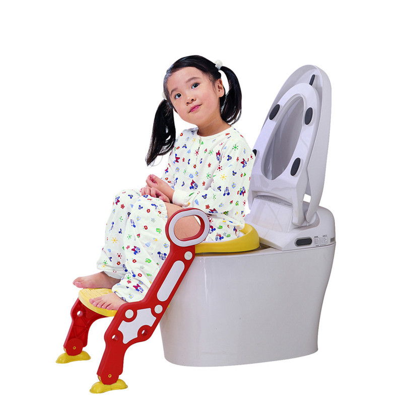 Super Us 22 98 26 Off Baby Child Potty Toilet Trainer Seat Step Stool Ladder Adjustable Training Chair Trainer Toilet Trainer Children Baby Bathroom In Machost Co Dining Chair Design Ideas Machostcouk
