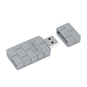 Беспроводной Bluetooth игровой приемник 8 Bitdo серого цвета, USB конвертер для PS3, PS4, PRO, переключатель, адаптер, ПК, контроллер для игр