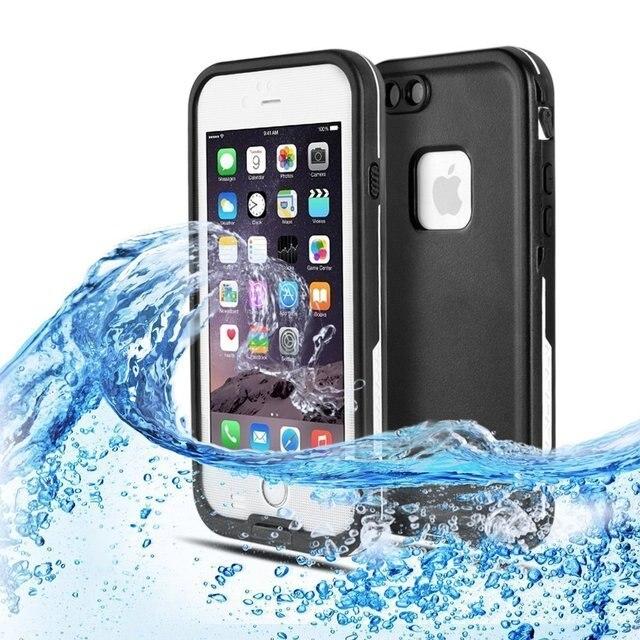 Водонепроницаемый Dirtpoof Snowproof Ударопрочный Защитный Чехол для iphone 6/6 S