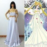 Cianni di Tsukino Usagi Sailor Moon cosplay costume custom any size